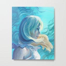 Lunafreya Nox Fleuret Metal Print