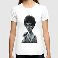 scarface T-shirts featuring Scarface by Nicolas Villeminot