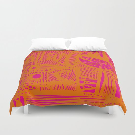 INK#9 Dreaming of India Duvet Cover