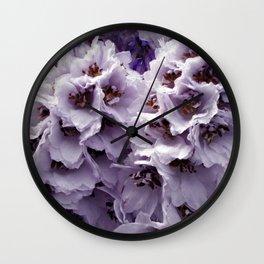 Ethereal petals III Wall Clock
