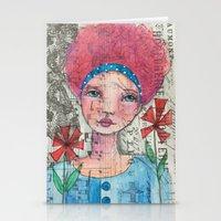 zelda Stationery Cards featuring Zelda by Judy Skowron