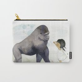 Hug me , Mr. Gorilla Carry-All Pouch