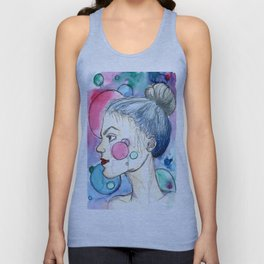 Circling Thoughts  Unisex Tank Top