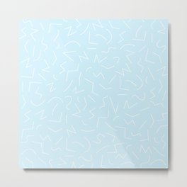 IZZY ((baby blue)) Metal Print