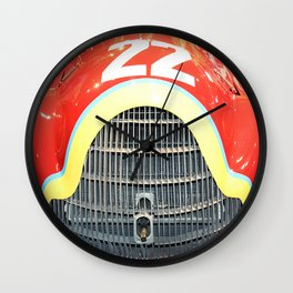 The Woman in Red Wall Clock