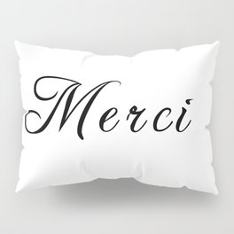 merci Pillow Sham