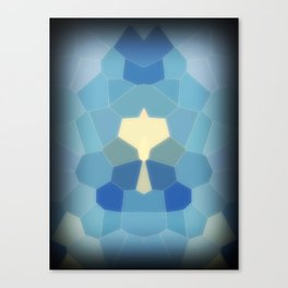 WinterLand Queen Canvas Print