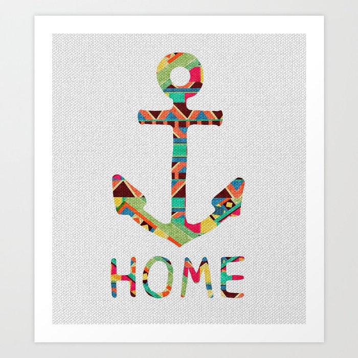 you make me home Art Print