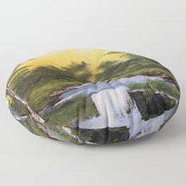 Small Waterfall Floor Pillow