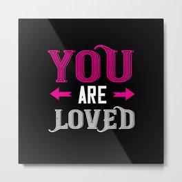 Be My Valentines Day Love - 49 Metal Print