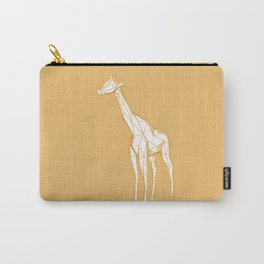 geometric giraffe Carry-All Pouch