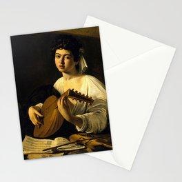 "Michelangelo Merisi da Caravaggio ""The Lute Player"" Stationery Cards"