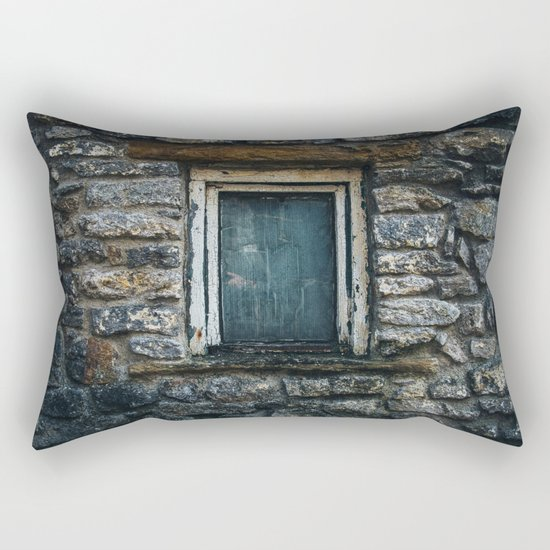 Who's That Peepin' In The Window? Rectangular Pillow
