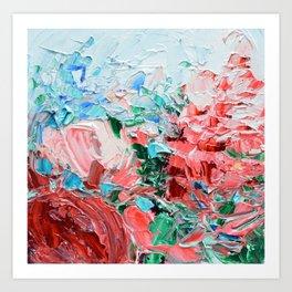 Petite La Vie en Rose Art Print