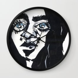 Staring into the void Wall Clock