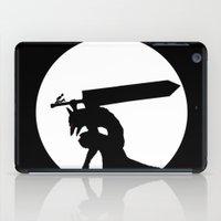 berserk iPad Cases featuring Gatsu berserk armor by Ednathum