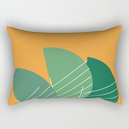 Banana Leaf #geometric #decor #society6 Rectangular Pillow