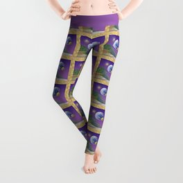 "NO WORLD IS ""ALIEN"" Leggings"