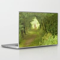 best friends Laptop & iPad Skins featuring Best Friends by CreativeByDesign
