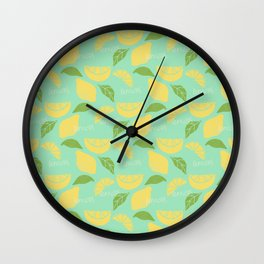 Give Us a Squeeze! Wall Clock