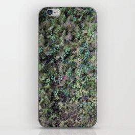 Deep into the Forest (moss, green grass) iPhone Skin