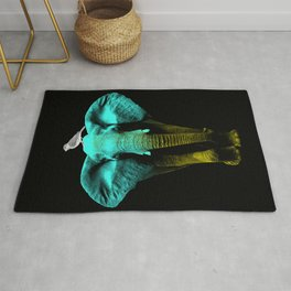 Friends for Life fluro Rug