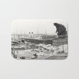 The White Star Line and Godzilla Bath Mat