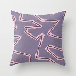 Zig Zag Throw Pillow