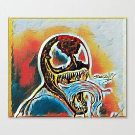 Symbiote Nightmares Canvas Print