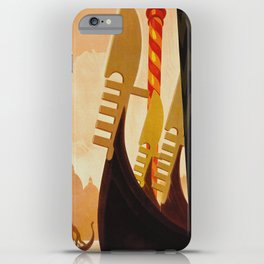 Venice Italy Vintage Travel iPhone Case