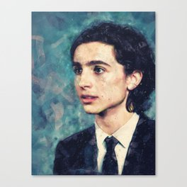 Timmy Watercolor Canvas Print