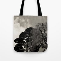 japanese Tote Bags featuring japanese by noirblanc777