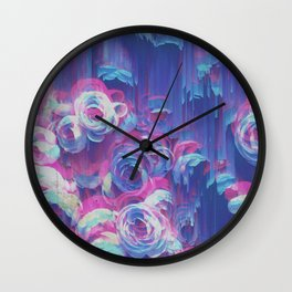 Rosae Rosarum Wall Clock