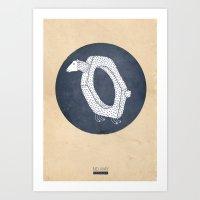 Impossible sheep circle Art Print