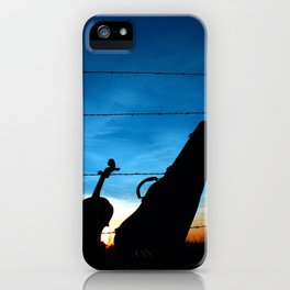 Sunset Sirenade iPhone Case