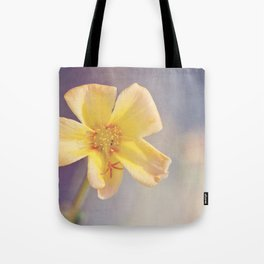 A Little Yellow Flower Tote Bag