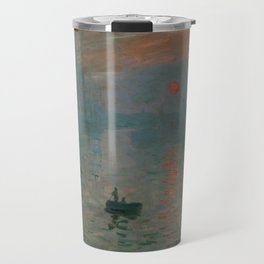 Claude Monet - Impression, Sunrise Travel Mug