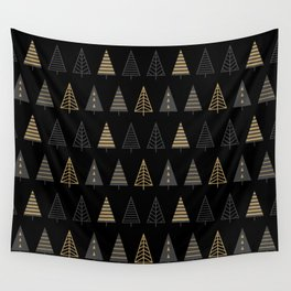 MODERN CHRISTMAS TREES 2 Wall Tapestry