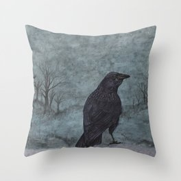 nightbird II Throw Pillow