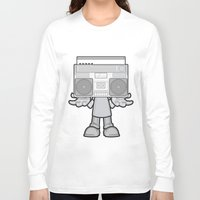 radio Long Sleeve T-shirts featuring Radio Head by Ewan Arnolda
