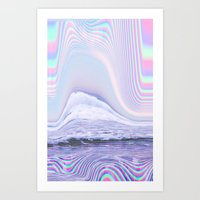 hologram Art Prints featuring Hologram by Claudia