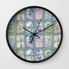 Many Fairies Molly Harrison Fantasy Art Wall Clock