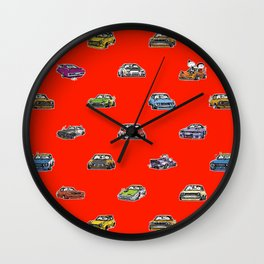 Crazy Car Art 0159 Wall Clock