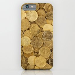 Gold Chain iPhone Case