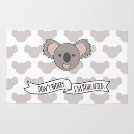 Don't Worry. I'm Koalafied. Rug