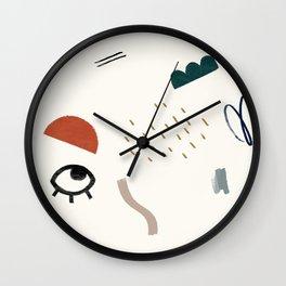 Look At Me Wall Clock