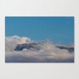 Desert Mountain Snow 0329 Canvas Print