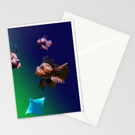 4 Musketeers,  Lionfish. Stationery Cards