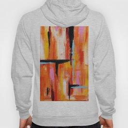 Abstract Orange 2 Hoody