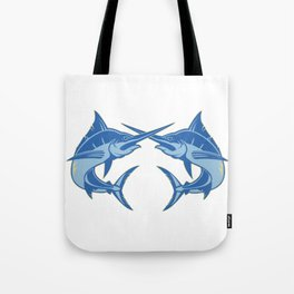 Sailfish is one of the most hardest fishes to catch Tote Bag